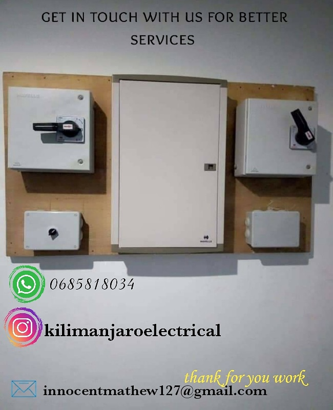 Electrical services in Tanzania